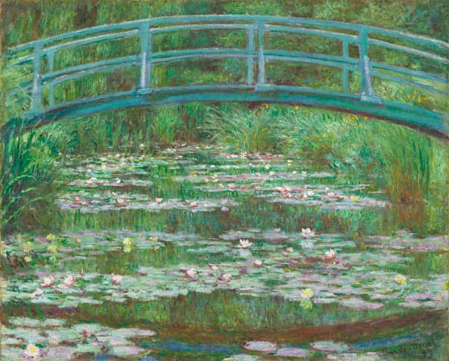 Claude-Monet-The-Japanese-Footbridge-1899-Painting-onarto