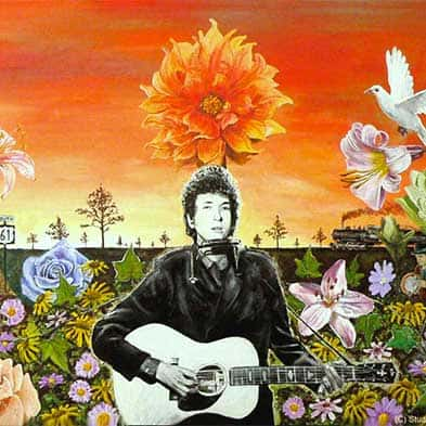 Image result for bob dylan paintings images