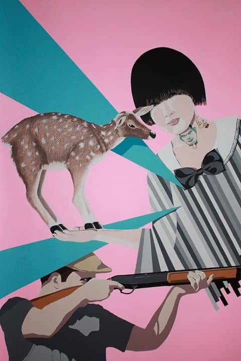 Alexis Dubois French Artist 1st Solo Show in Bangkok