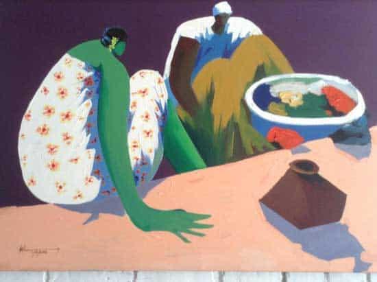 Burmese-painting-Neilson-Hays-Library-onarto