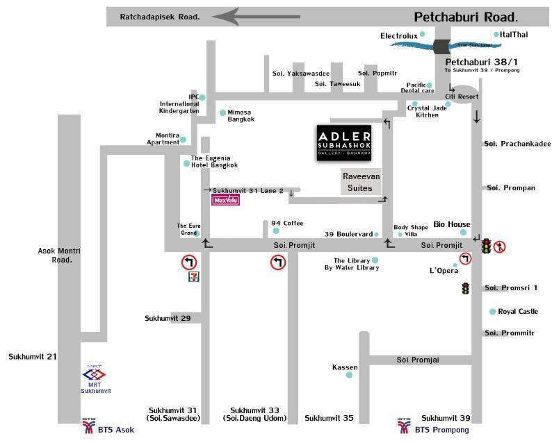 Adler Subhashok Gallery MAP