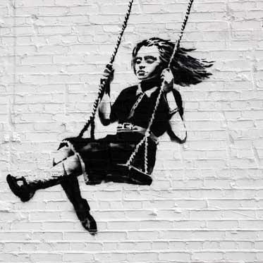 Banksy hoax graffiti street art