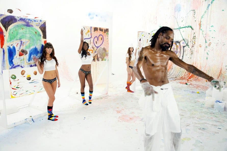 Snoop Dogg Painting art news