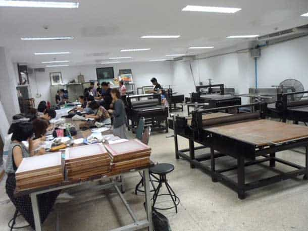 art-workshop-ssru-university-bangkok-onarto
