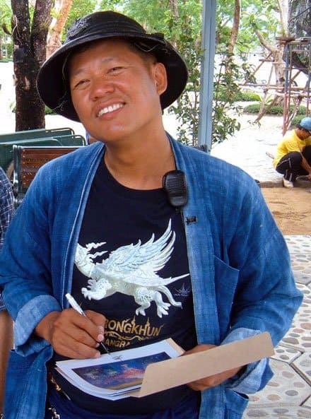 chalermchai kositpipat wat rong khun famous artist