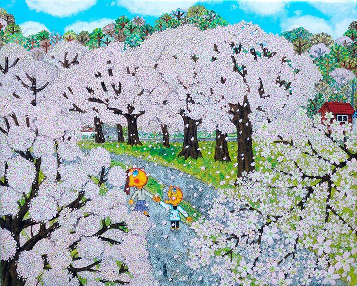 Akko Art Gallery # Art Exhibition by Kyoko Abe