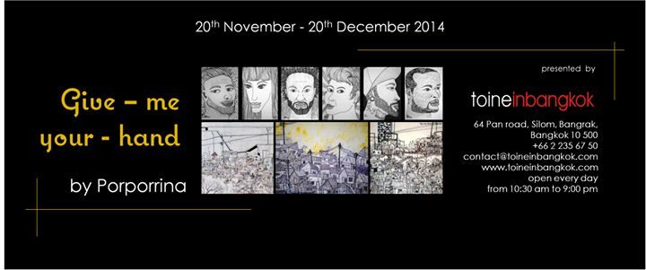 Toineinbangkok # Porporrina Art Exhibition