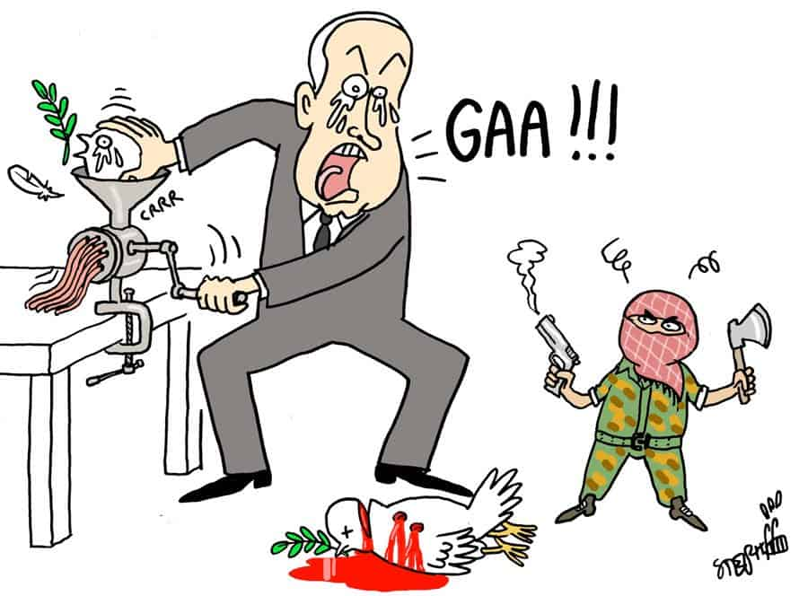 thai art thailand politics cartoon stephff synagogue attack