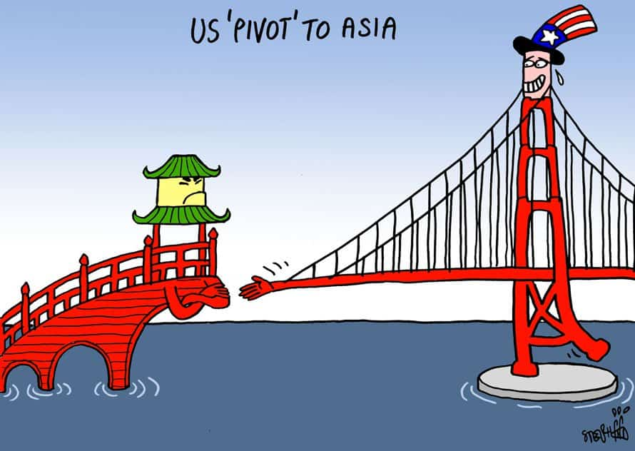 thai art thailand politics cartoon stephff us pivot to asia