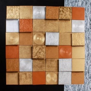 Art For Sale # Anek # Squares # Acrylic Painting # Thai Art # 8