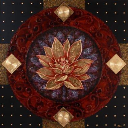 Art For Sale # Pinya # Flowers # Thai Lotus # 02