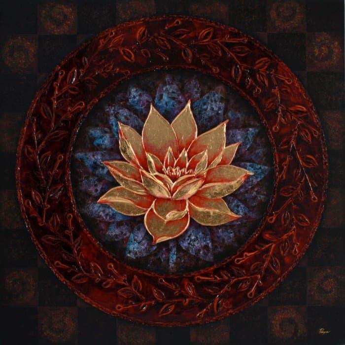 Art For Sale # Pinya # Flowers # Thai Lotus # 03