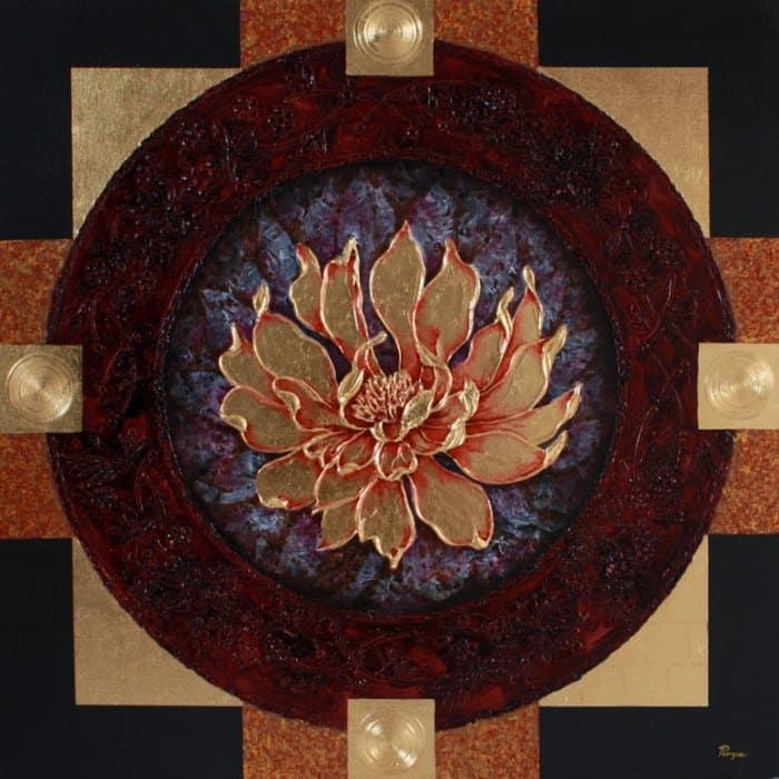 Art For Sale # Pinya # Flowers # Thai Lotus # 05