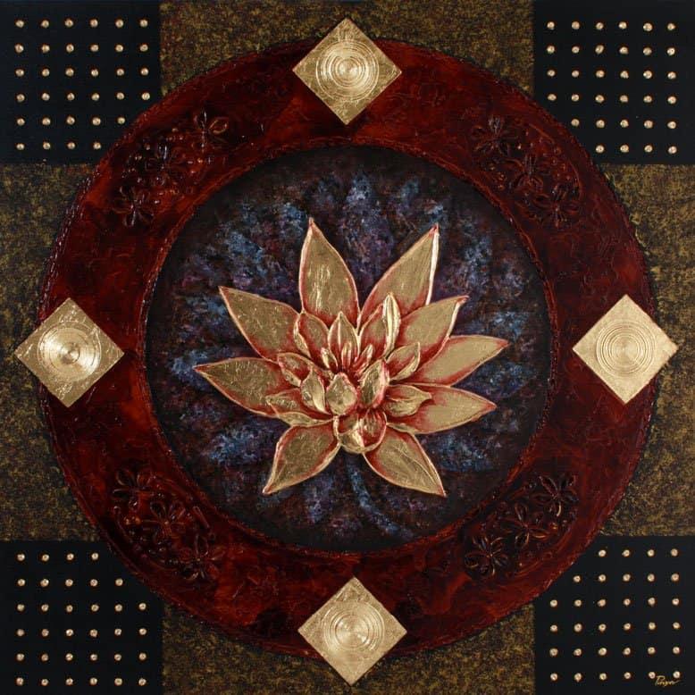 Art For Sale # Pinya # Flowers # Thai Lotus # 06