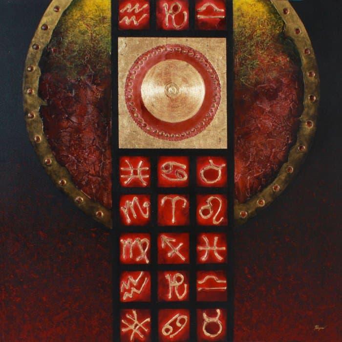Art For Sale # Pinya # Zodiac # Thai Art # 3