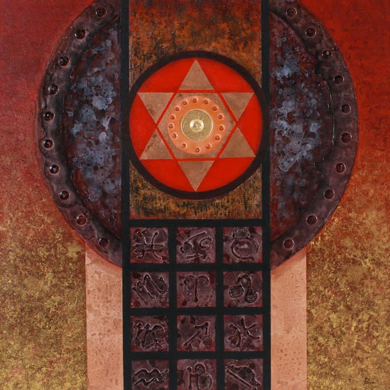 Art For Sale # Pinya # Zodiac # Thai Art # 4