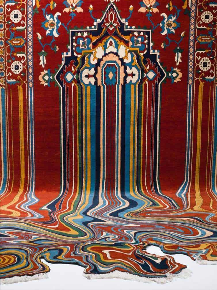 Faig Ahmed - Psychedlic - Azerbaijani Carpets - 01