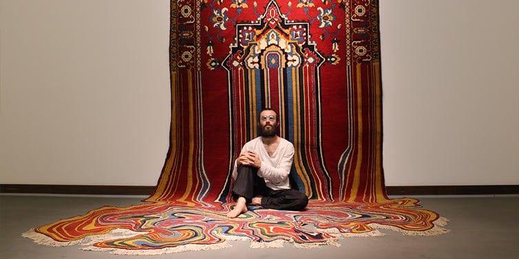 Faig Ahmed - Psychedlic - Azerbaijani Carpets - 03 - feat
