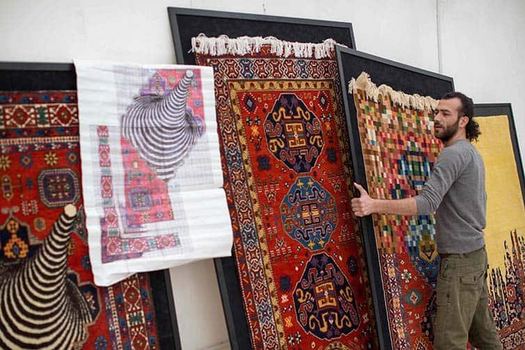 Faig Ahmed - Psychedlic - Azerbaijani Carpets - 04