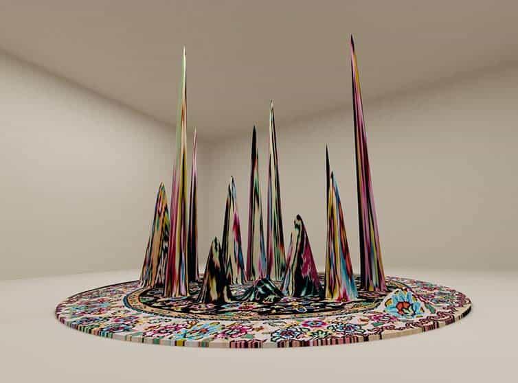 Faig Ahmed - Psychedlic - Azerbaijani Carpets - 07