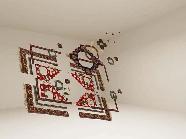Faig Ahmed - Psychedlic - Azerbaijani Carpets - 12