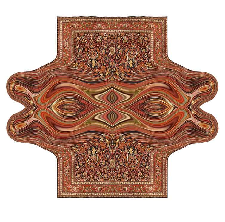 Faig Ahmed - Psychedlic - Azerbaijani Carpets - 17