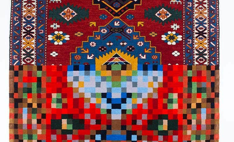 Faig Ahmed - Psychedlic - Azerbaijani Carpets - 18