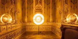 Olafur Eliasson - Lights and Mirrors - Viennese Palace 01 - feat