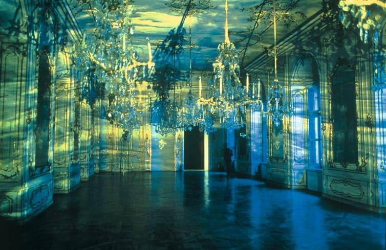 Olafur Eliasson - Lights and Mirrors - Viennese Palace 02