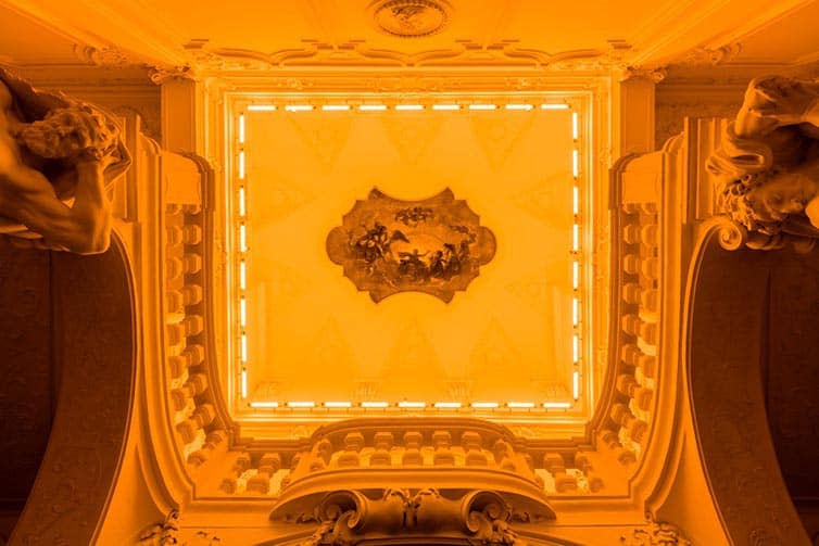 Olafur Eliasson - Lights and Mirrors - Viennese Palace 08