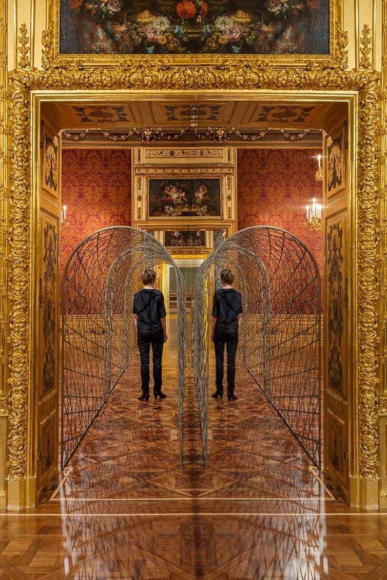Olafur Eliasson - Lights and Mirrors - Viennese Palace 09