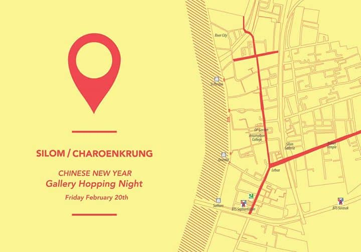 Silom / Charoenkrung Gallery Hopping