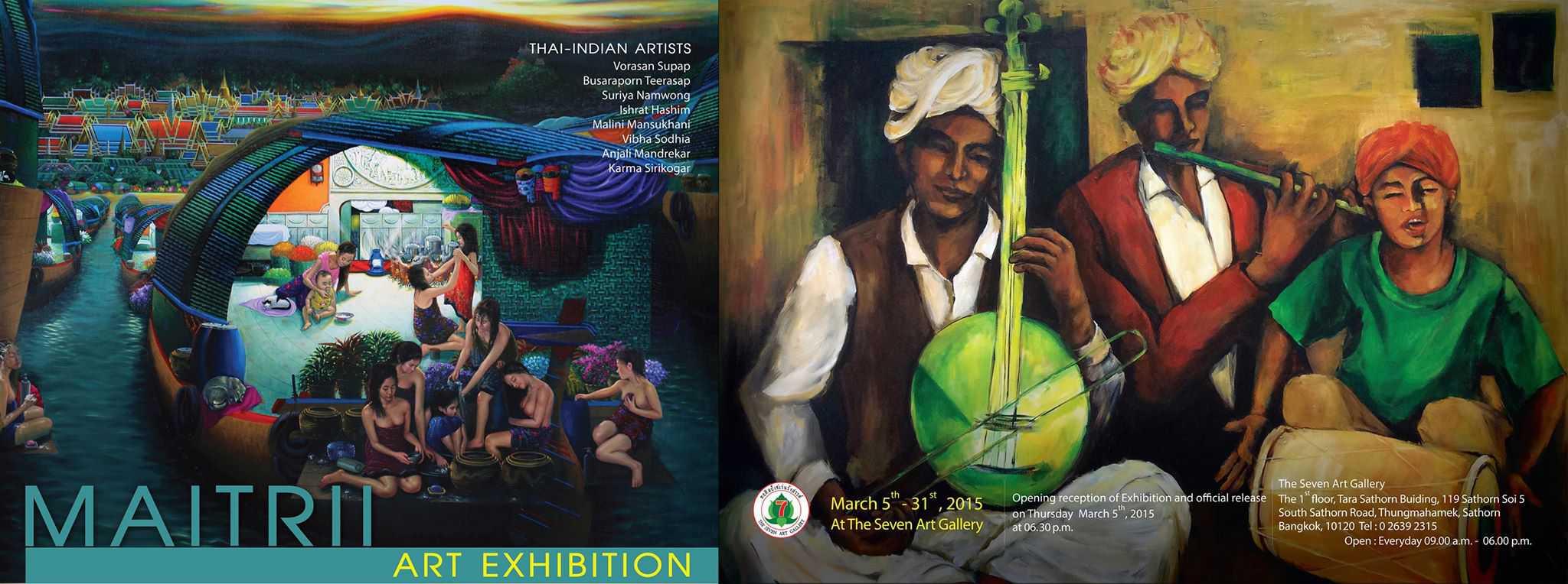 The Seven Art Gallery # Maitrii Art Exhibition