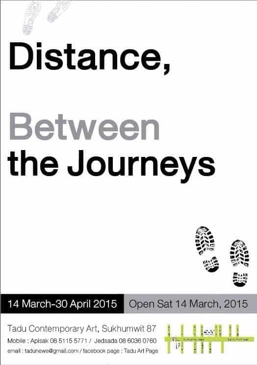 Tadu Art Gallery # Distance, between the Journeys