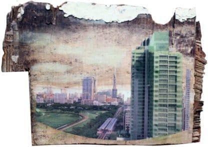 Melanie Gritzka Del Villar - Art - Bangkok I Brown