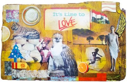 Melanie Gritzka Del Villar - Art - It's Time To Love