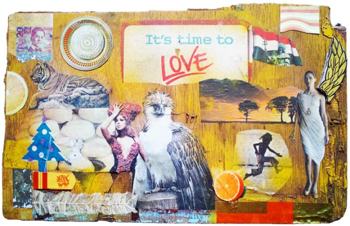 Melanie Gritzka Del Villar - Art - It's Time To Love
