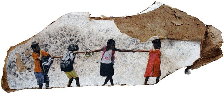 Melanie Gritzka Del Villar - Better Together, 2013, 31 X 12 CM