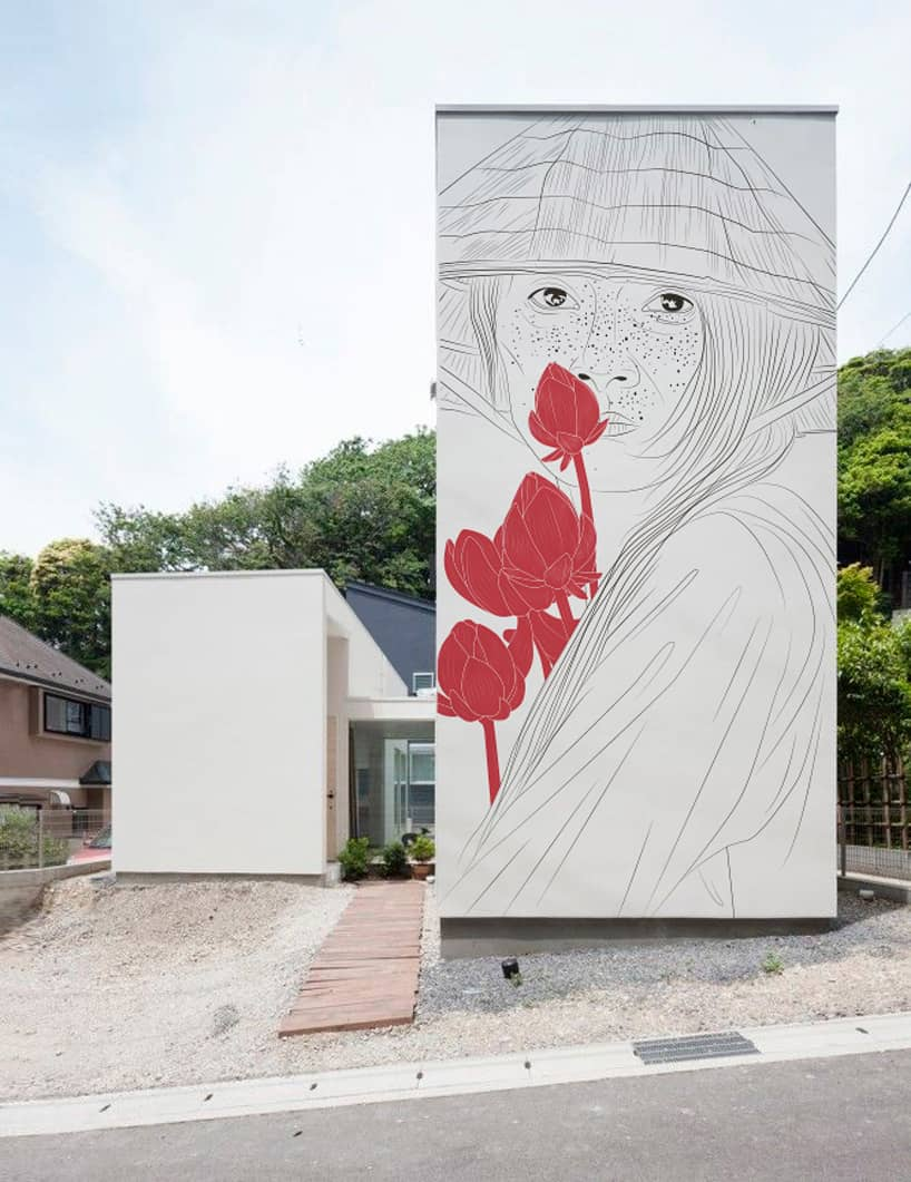 Ancient Japanese Drawings on Modern Homes 1
