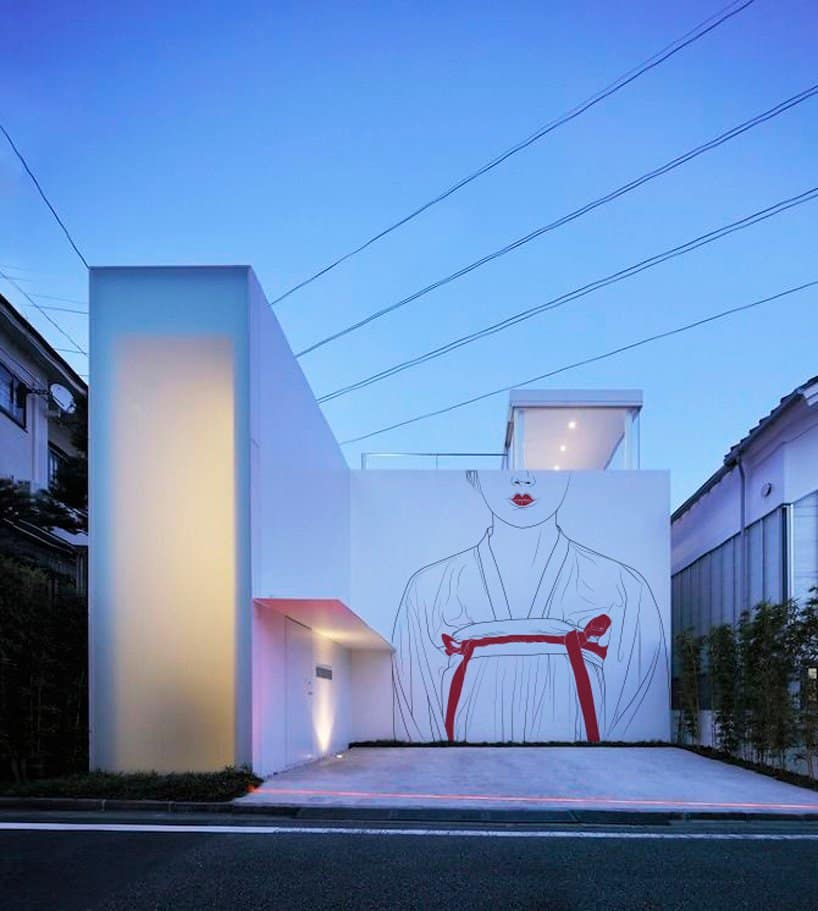 Ancient Japanese Drawings on Modern Homes 4