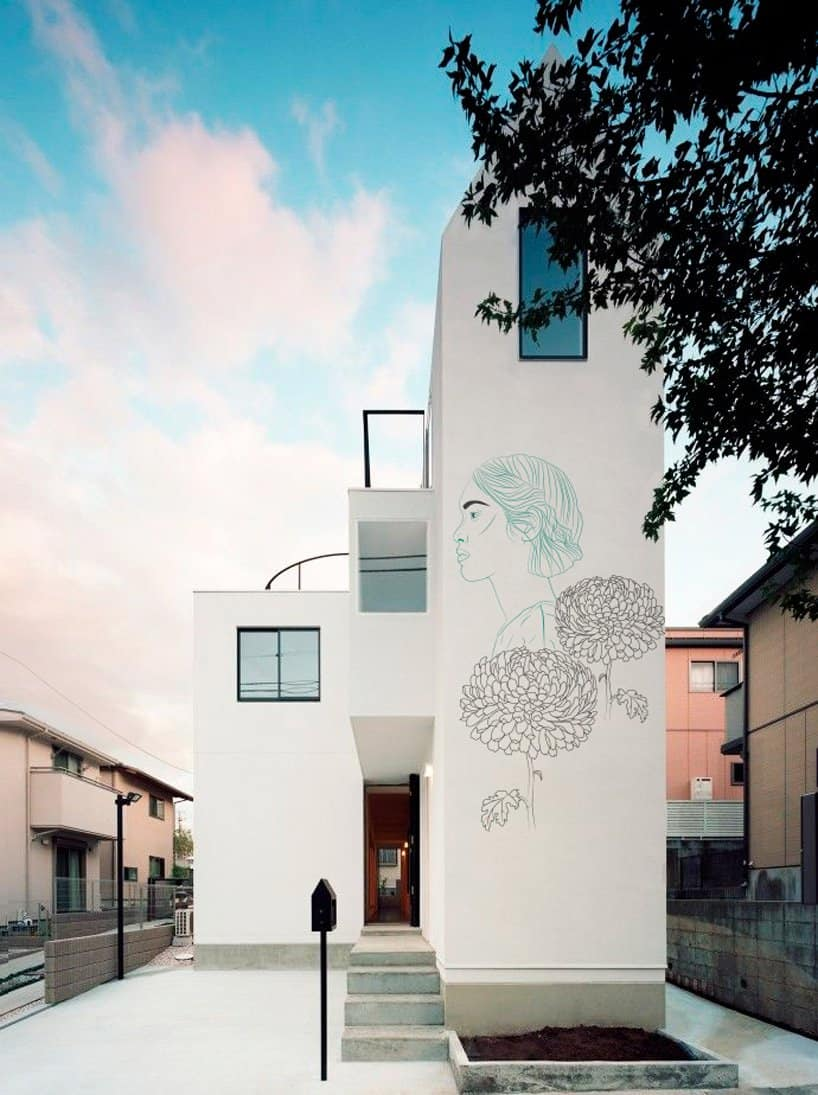 Ancient Japanese Drawings on Modern Homes 5