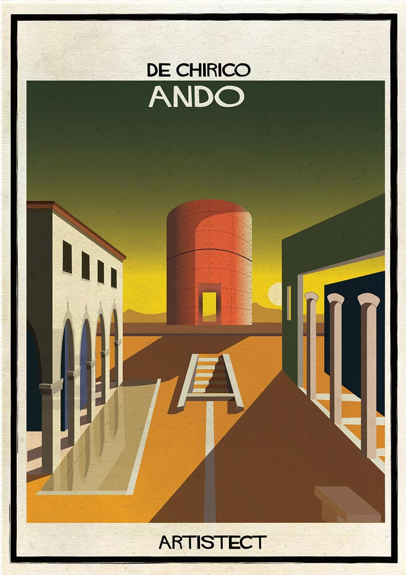 Federico Babina Meets Fine Art with Architecture 4