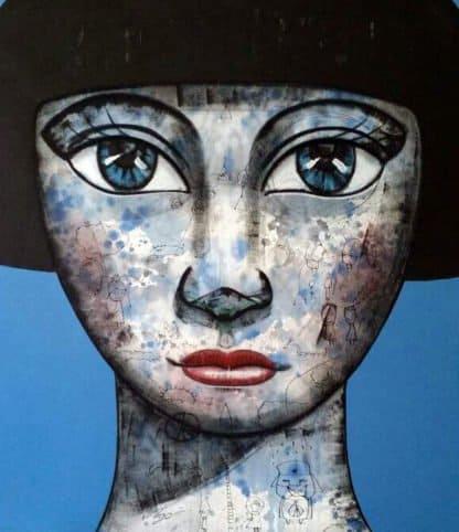 Padungphon Rincom - Thai art - Blue # 2