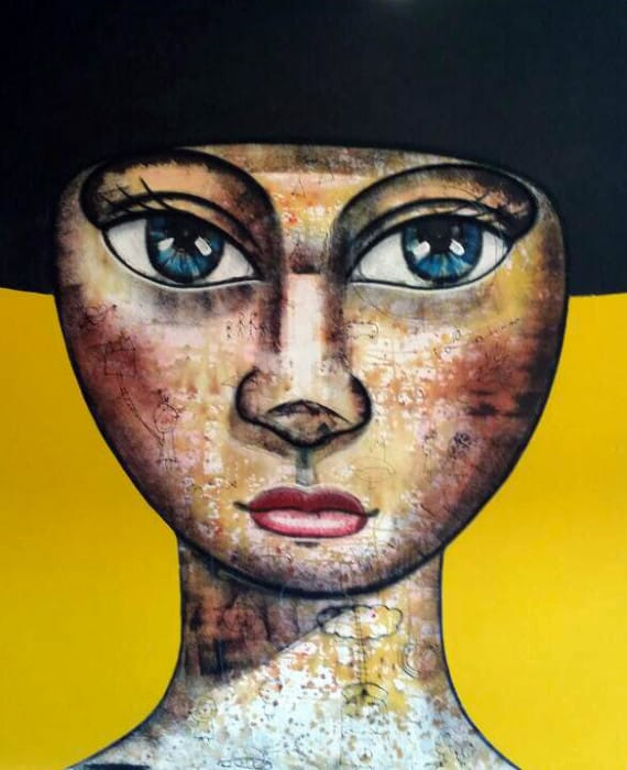 Padungphon Rincom - Thai art - Yellow # 2