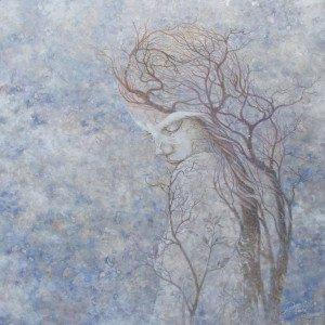 Pongsak Kamjornrasamekit - The Silently Lost - 100x100 - Thai Artist