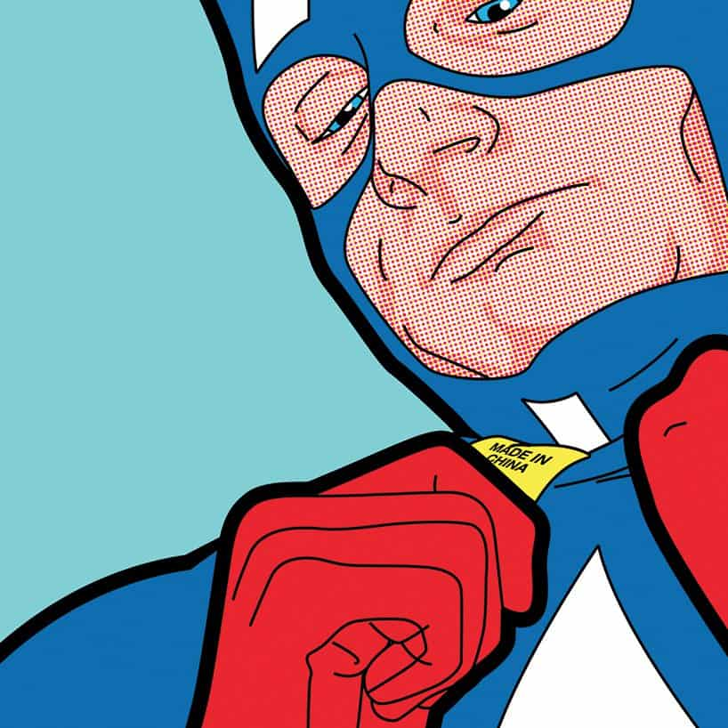 Pop Art Super Heroes Private Lives 13