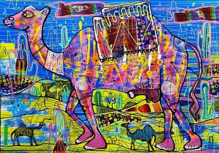 Popkapi - Jakkrit Chewapanya - Weird Camel 170 x 120