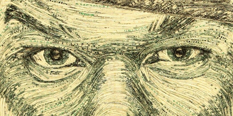 Portraits Made With Money by Evan Wondolowski 2