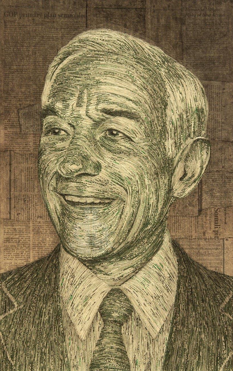 Portraits Made With Money by Evan Wondolowski 5