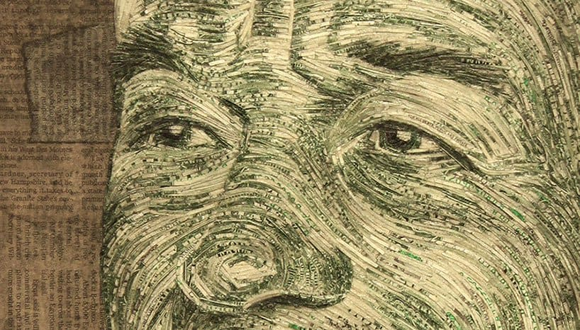 Portraits Made With Money by Evan Wondolowski 6